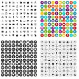 100 cyber security icons set vector variant. 100 cyber security icons set vector in 4 variant for any web design isolated on white vector illustration