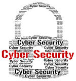 Cyber Security Indicates World Wide Web And Searching Stock Photo