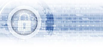 Cyber security and information or network protection. Future tec. Cyber security and information or network protection. Future cyber technology web services for Royalty Free Stock Photos