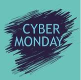 Cyber segunda-feira Ilustração do vetor ilustração do vetor