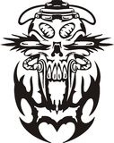 Cyber Skull. Royalty Free Stock Photography