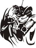 Cyber Skull. Stock Images