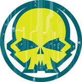Cyber Skull Royalty Free Stock Image