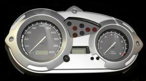 Cyber speedometer Stock Image