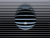 Cyber Sphere Stock Photo