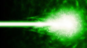 Plasma cyber-Ray Royalty-vrije Stock Afbeelding