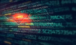 Cyber Szturmowy pojęcie zdjęcie stock