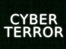 CYBER TERROR Royalty Free Stock Image