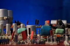 Cyber terroryzmu pojęcia komputeru bomba Zdjęcia Stock