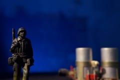 Cyber terroryzmu pojęcia komputeru bomba Fotografia Royalty Free