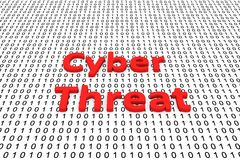Cyber threat Royalty Free Stock Image