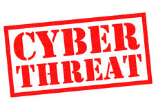 CYBER THREAT Stock Images