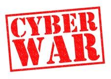 CYBER WAR Stock Image