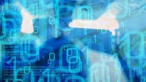Cyber zagrożenia ochrona, infekująca internet strona internetowa i otwierający emaile trojańskim wirusem, ilustracja wektor