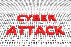 Cyberangriff Stockfotografie