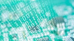 Cyberattack online dell'infrastruttura di sicurezza illustrazione vettoriale
