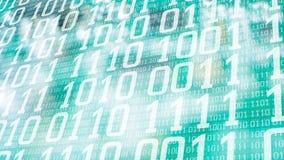Cyberattack som stjäler stora data för dator royaltyfri illustrationer
