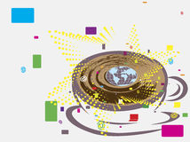 Cybercaffè Immagini Stock Libere da Diritti