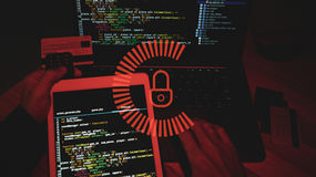 Cybercrime Stock Image