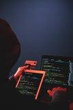 Cybercrime Scam Stock Photo