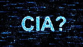 Cyberespionage in USA. Hacking of information technology. Central Intelligence Agency. Hacking of information technology. Cyberespionage in USA. Central stock footage