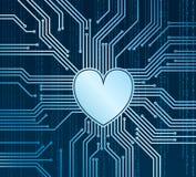 Cyberheart Стоковая Фотография