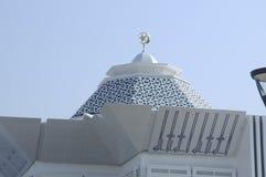 Cyberjaya清真寺圆顶在Cyberjaya,马来西亚 库存照片