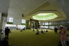 Cyberjaya清真寺在Cyberjaya,马来西亚 图库摄影