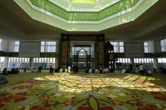 Cyberjaya清真寺在Cyberjaya,马来西亚 免版税图库摄影