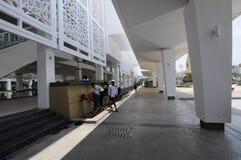 Cyberjaya清真寺在Cyberjaya,马来西亚 免版税库存照片