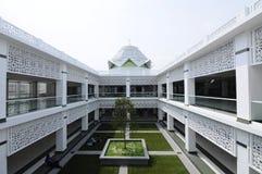 Cyberjaya清真寺在Cyberjaya,马来西亚 库存照片