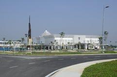 Cyberjaya清真寺在Cyberjaya,马来西亚 库存图片