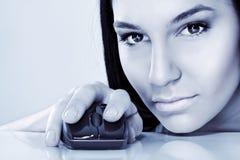 Cybermädchen Lizenzfreie Stockfotografie