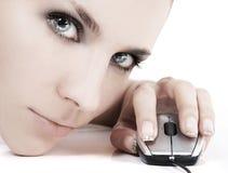 Cybermädchen Lizenzfreies Stockbild