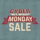 Cybermåndag försäljning Royaltyfria Bilder