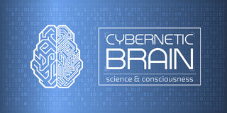 Cybernetic Brain Royalty Free Stock Images
