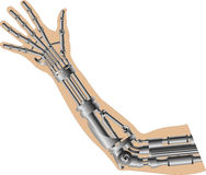 Cybernetic hand Royalty Free Stock Photo