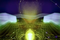 Cybernetica - IV Royalty-vrije Illustratie