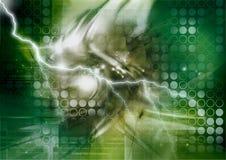 Cybernetics storm Stock Image