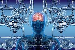 Cybernetik Royaltyfria Foton