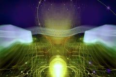 cybernetikiv royaltyfri illustrationer