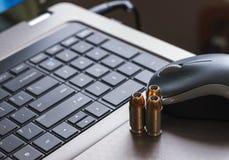 Cyberoorlogvoering Stock Fotografie