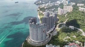 Cyberport in het eiland van Hongkong royalty-vrije stock afbeelding