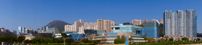 Hong Kong Cyberport Stock Foto