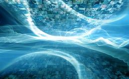 cyberprzestrzeni, Obrazy Stock