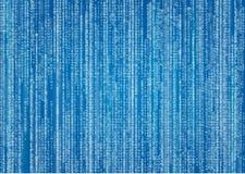 Cyberprzestrzeni tło z cyframi i tekstem Obrazy Royalty Free