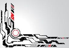 Cyberpunk illustration libre de droits