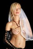 Cyberpunk bride Stock Image