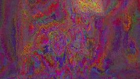 Cyberpunk pattern light leak holographic background.