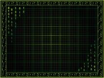 Cyberpunkhintergrund Stockbild